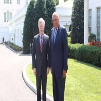 شكري يلتقي مستشار الأمن القومي الأمريكي في واشنطن