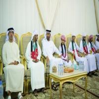محمد بن زايد يعزّي ذوي شهداء القوات المسلحة الأربعة