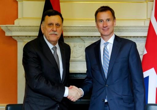 وزير الخارجية البريطاني: لا مكان للحل العسكري في ليبيا