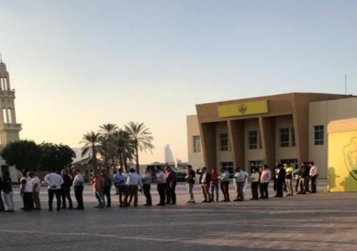 إقبال كبير على شراء تذاكر مباراة الوصل والأهلي المصري