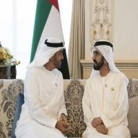محمد بن راشد يلتقي محمد بن زايد في أبوظبي