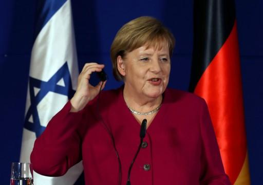 ميركل تختتم مسيرتها بزيارة الاحتلال الإسرائيلي