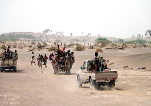 التحالف العربي: 100 حوثي محاصر بمديرية الدريهمي في الحديدة