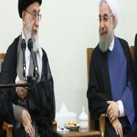 خامنئي يؤيد موقف روحاني بإغلاق مضيق هرمز