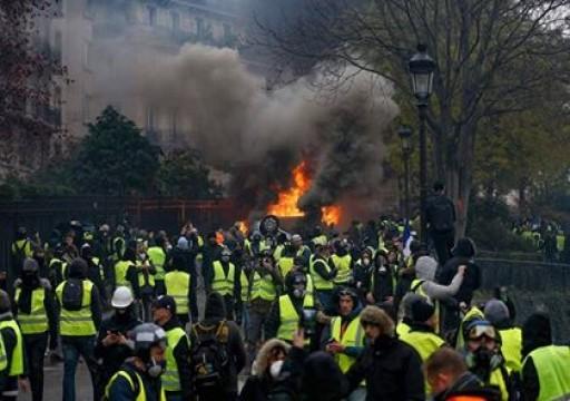 السفارة في باريس تحذر المواطنين من تظاهرات أصحاب السترات الصفراء غداً