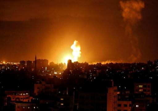 استشهاد 7 فلسطينيين في هجوم إسرائيلي على جنوبي قطاع غزة