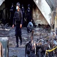 هجوم بسيارة ملغومة يستهدف مقراً للشرطة في إندونيسيا
