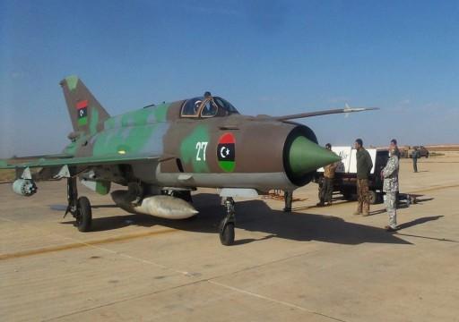 الوفاق الليبية تعلن عن تنفيذ ضربات جوية تستهدف قوات حفتر جنوب طرابلس