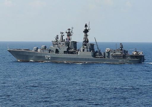 سفينة حربية يابانية تبحر متجهة إلى خليج عمان لحماية السفن التجارية