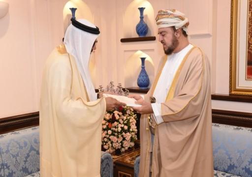 الزياني يسلم سلطان عُمان رسالة من ملك البحرين