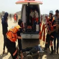شهيدان  برصاص الاحتلال على حدود غزة