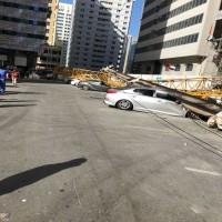إيقاف معاملات المسؤولين عن حادث «رافعة أبوظبي»