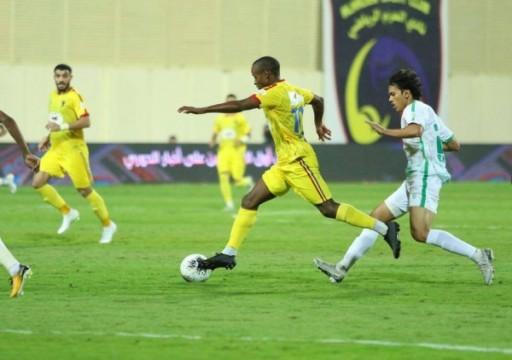 أهلي جدة يسقط أمام الحزم في الدوري السعودي