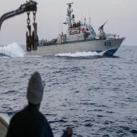 البحرية الإسرائيلية تطلق النار صوب مسيرة لـكسر الحصار عن غزة