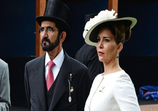 محكمة بريطانية: محمد بن راشد أمر باختراق هواتف الأميرة هيا ومحاميتها