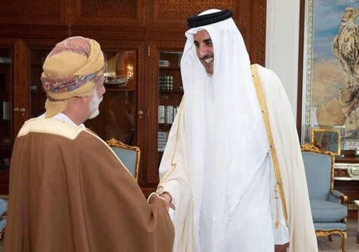 وزير الخارجية العماني يلتقي أمير قطر ضمن جولة خليجية