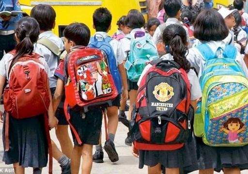دراسة تحذر من حمل تلاميذ المدارس الحقائب على ظهورهم