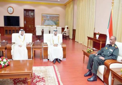 المزروعي يبحث مجالات التعاون في التجارة مع السودان