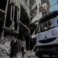 مقتل 71 مدنياً في الغوطة تحت أنظار وفدٍ للأمم المتحدة