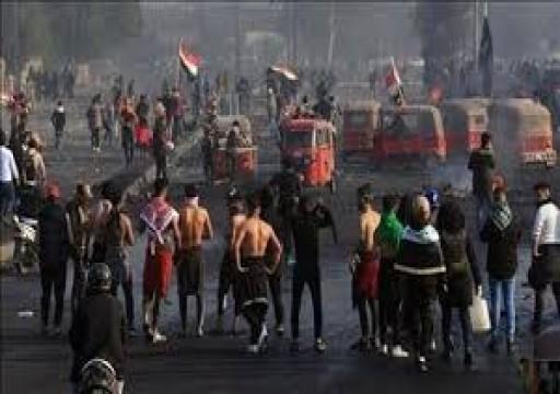رايتس ووتش تتهم السلطات العراقية بتصعّيد العنف لإخماد الاحتجاجات