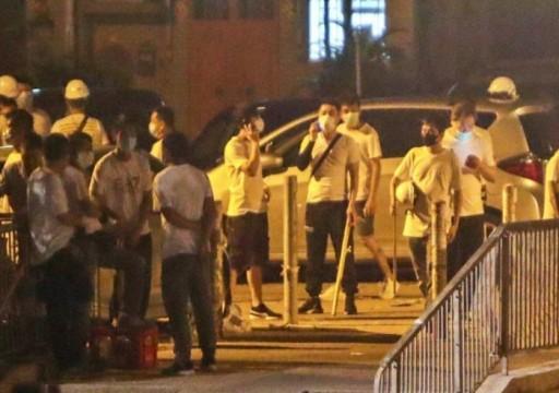 قنصلية الدولة في هونج كونغ تحذر المواطنين من ارتداء هذه الملابس