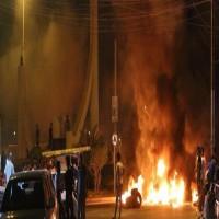 العراق.. متظاهرون يضرمون النيران بمقرات حكومية بالبصرة