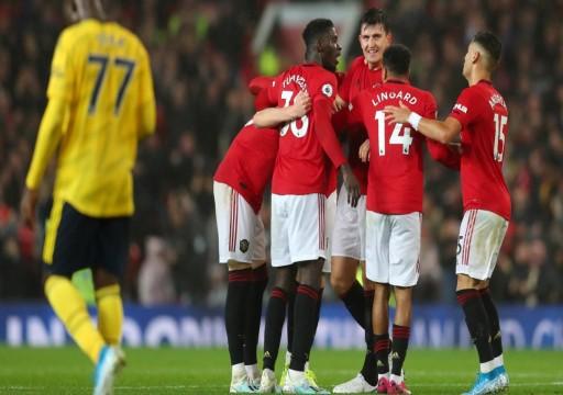 مانشستر يونايتد يتعادل مع أرسنال بعد عرض باهت في الدوري الإنجليزي