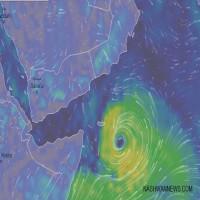 """""""الأرصاد"""": الدولة لن تتأثر بـ""""إعصار العاصفة المدارية"""" على عمان واليمن"""