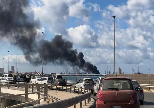 100 رحلة و6 آلاف طن.. حكومة الوفاق تكشف تفاصيل نقل أسلحة وذخائر إماراتية إلى حفتر