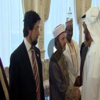 محمد بن زايد يستقبل وعاظا من عدة دول غير إسلامية