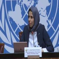 المتحدثة باسم الخارجية القطرية تحرج مراسل وكالة أنباء الإمارات (فيديو)