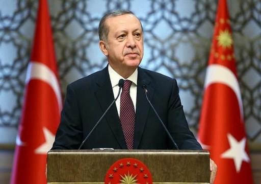 أردوغان: بحثت مع ترامب إقامة منطقة آمنة في سوريا