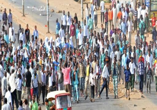 إصابة 9 متظاهرين بالرصاص في وسط السودان