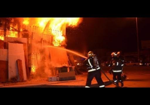 عجمان.. 8 حالات اختناق في حريق شقة بمنطقة النعيمية