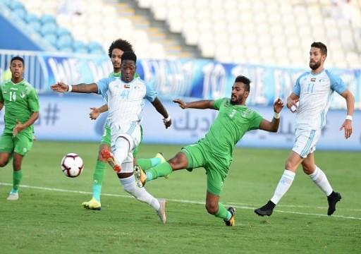 الإمارات ينتزع التعادل من بني ياس.. وشباب الأهلي يتخطى دبا الفجيرة