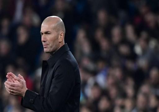 زيدان يزف بشرى سارة لمشجعي ريال مدريد بعد رباعية أوساسونا