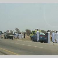 وفاة 4 مواطنين بينهم طفلان بتصادم مروع في عُمان