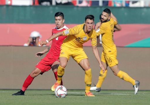 كأس آسيا19: أستراليا تفوز على فلسطين بثلاثية نظيفة