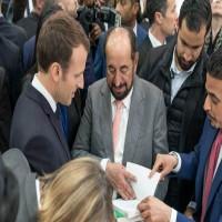 ماكرون لـسلطان القاسمي: الثقافة حجر الزاوية في العلاقات الفرنسية الإماراتية