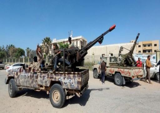 قوات الوفاق الليبية تشن هجومًا على تمركزات لحفتر جنوبي طرابلس