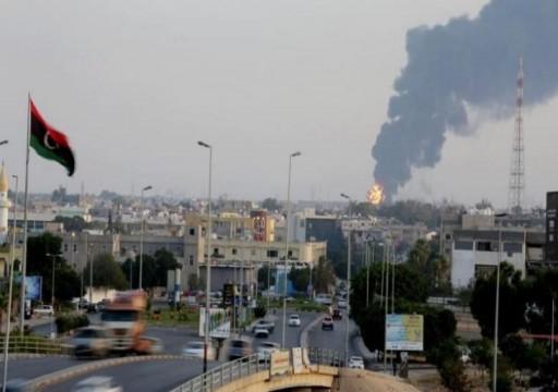 قصف جوي عنيف وتحليق مكثف للطيران بعدد من مناطق طرابلس