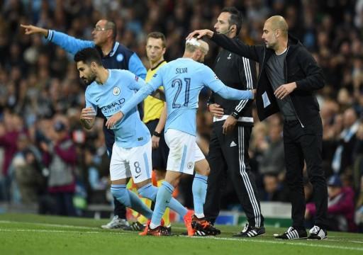مانشستر سيتي يحقق انتصاره الثاني على التوالي بأبطال أوروبا
