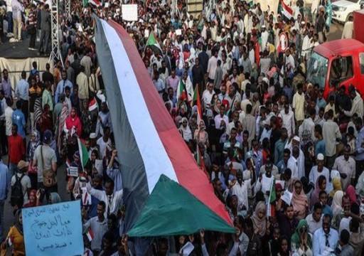 تظاهرة حاشدة في الخرطوم للمطالبة بتسليم السلطة