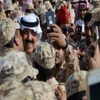 ظهور نجل العاهل السعودي الراحل الأمير متعب بن عبدالله في جدة
