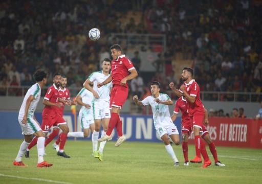 فوز العراق وفلسطين على حساب لبنان واليمن في افتتاح بطولة غرب آسيا