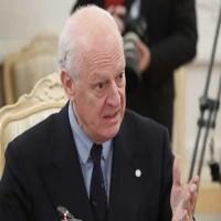 دي ميستورا: سوريا تتجه نحو تقسيم كارثي وعودة داعش إذا لم يتم التوصل إلى تسوية شاملة