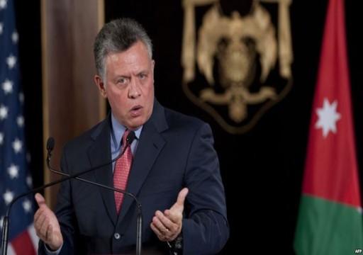 العاهل الأردني يدعو الرئيس العراقي لزيارة عمان