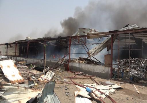 اليمن.. الحوثيون يقصفون ميناء المخا الخاضع لسيطرة قوات مدعومة من أبوظبي