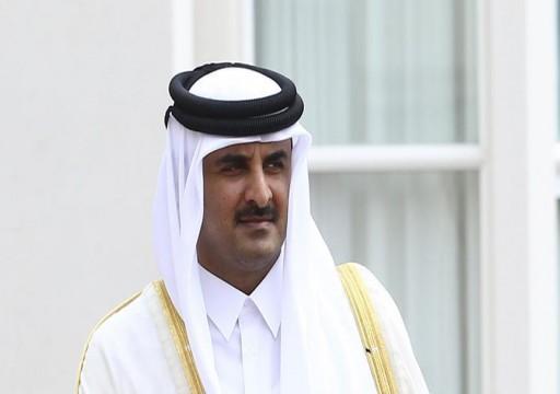 أمير قطر يترأس وفد بلاده في القمة العربية الاقتصادية في بيروت