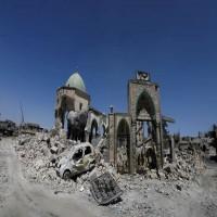 اتفاق إماراتي عراقي لإعادة إعمار جامع النوري ومنارة الحدباء في الموصل